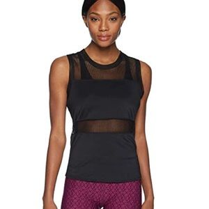 Sam Edelman athletic mesh combo tank top